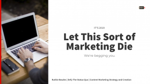 Video: These Bad Marketing Practices Have to Go!
