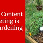 3 Ways Content Marketing is Like Gardening