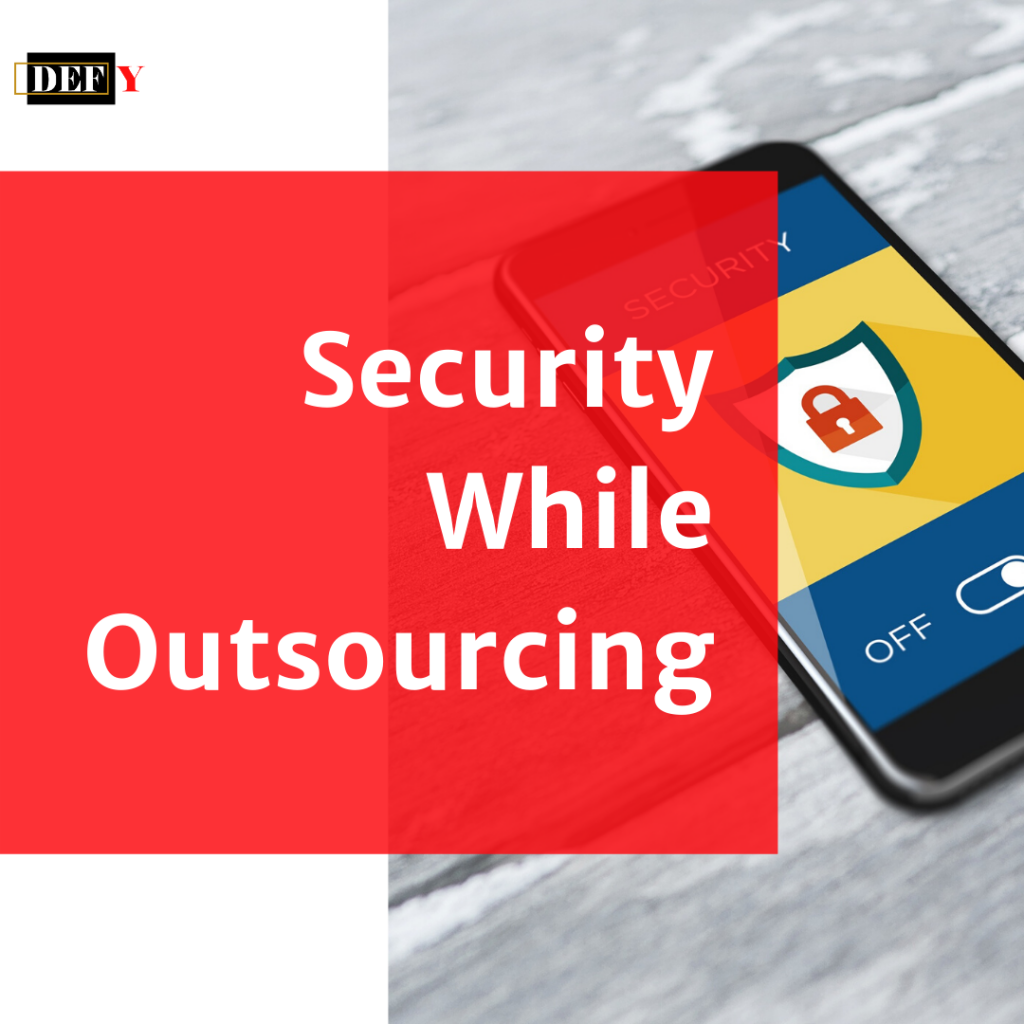 security while outsourcing