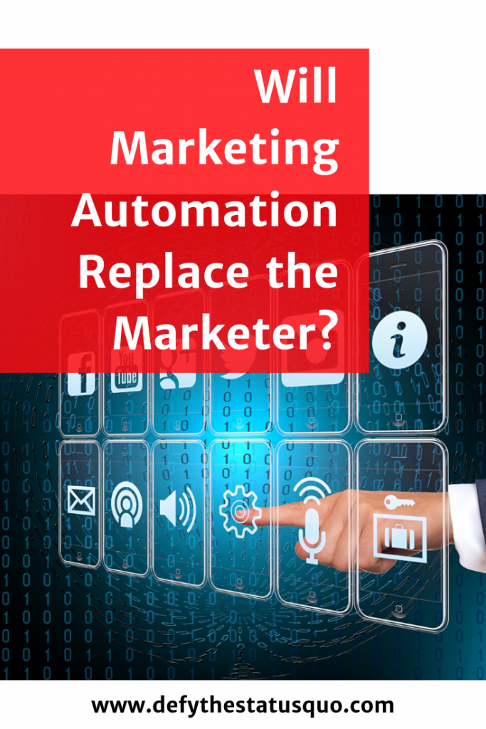 will marketing automation replace the marketer