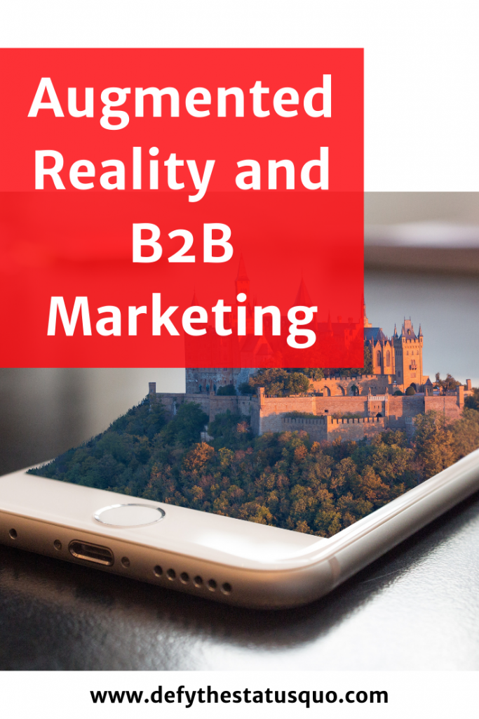 augmented reality for b2b marketing