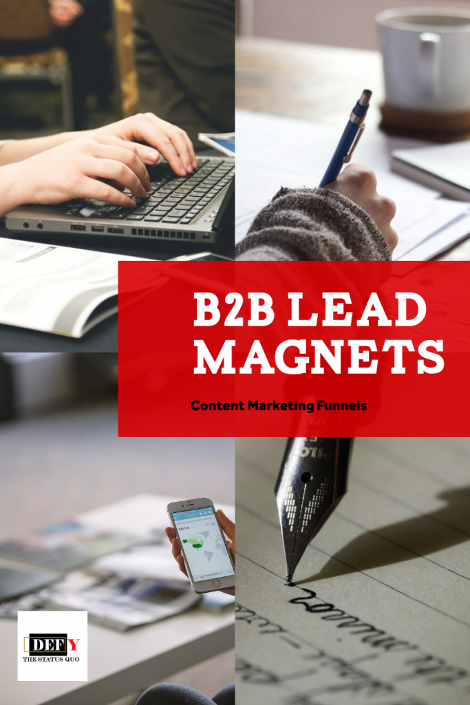 B2B lead magnets for lead generation