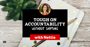 Tough on Accountability Without Shaming