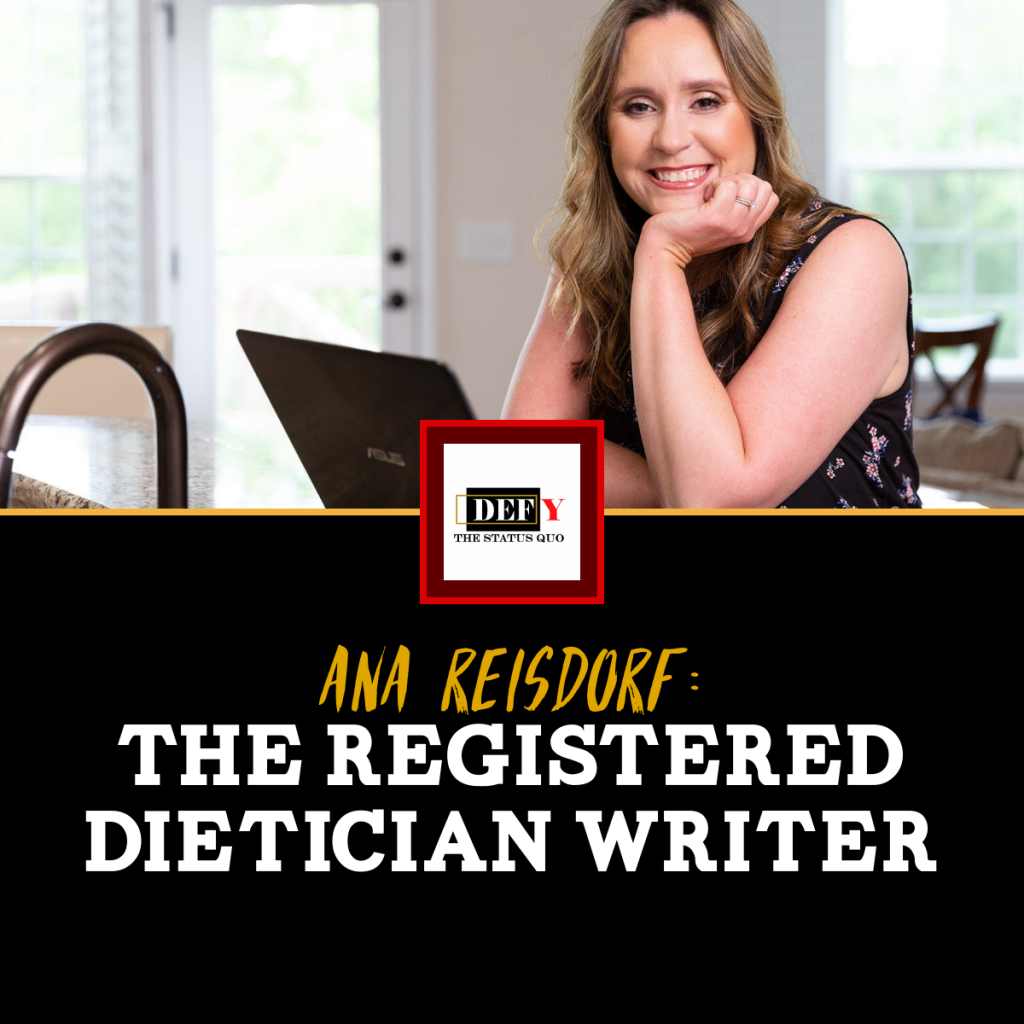 ana reisdorf the registered dietician writer