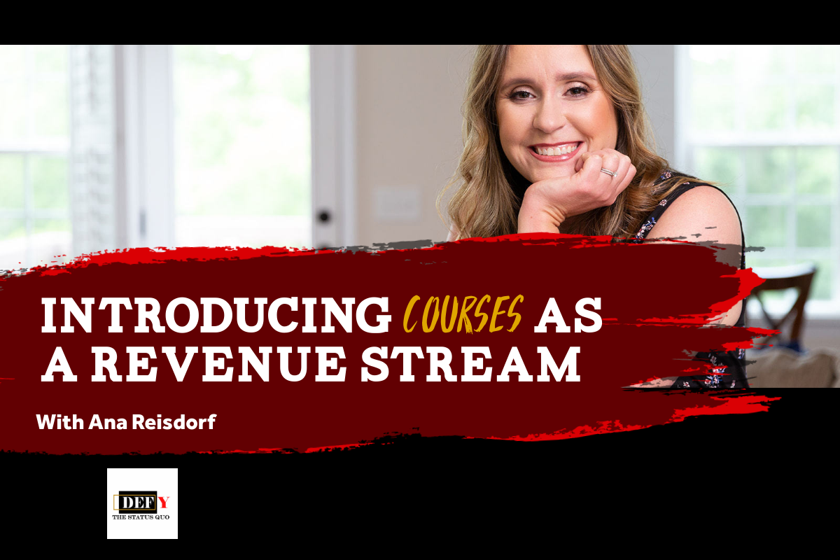 Introducing Courses as a Revenue Stream