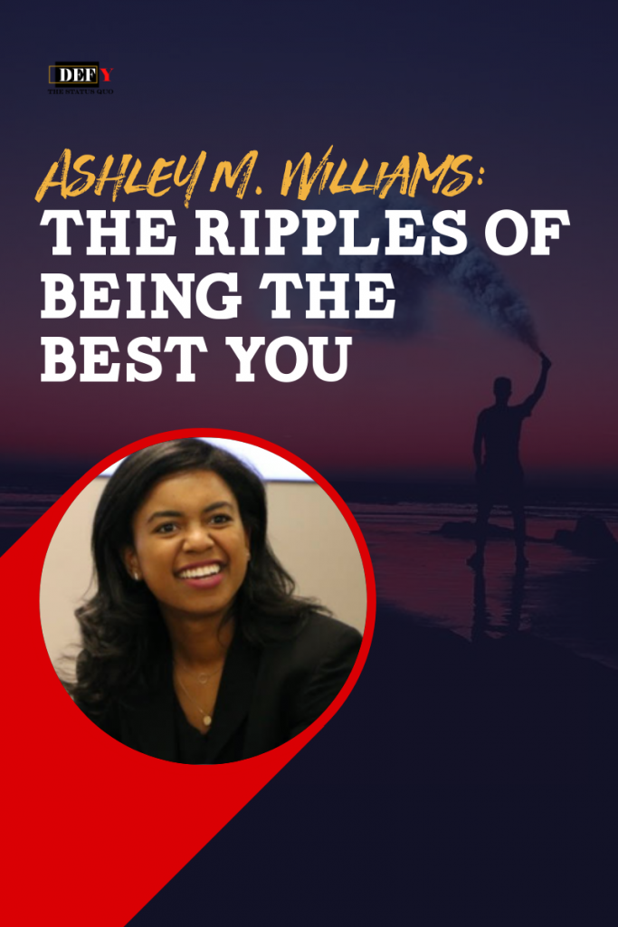 ashley m. williams the ripples of being the best you