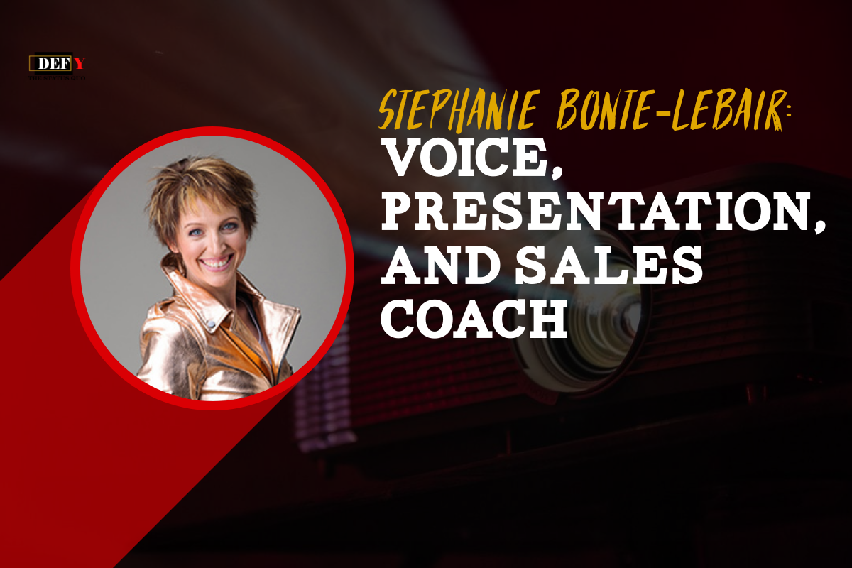 Stephanie Bonte-Lebair: Voice, Presentation, and Sales Coach