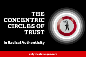 The Concentric Circles of Trust in Radical Authenticity